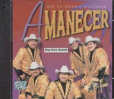 Conjunto Amanecer No Te Puedo Olvidar CD Nuevo Sealed