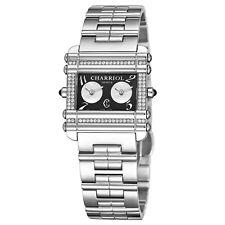 df73e359b06 Charriol Women s Actor Black Dial Stainless Steel Quartz Watch  CCHDTD110HDT01