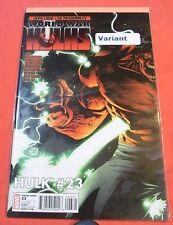 HULK #23 - World War HULKS - 1:20 Variant cover - bagged  (2008)