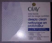 Olay Daily Facials Soap-Free Eye Makeup Remover and 4-In-1 water act cloths 101A
