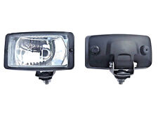 2x Scheinwerfer 12V/24V Halogen SUV OFFROAD Universal Fernlicht H3