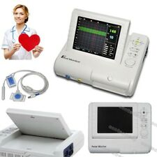 Color Lcd 24 Hours Fetal Monitor Ultrasound Fhr Toco Fetal Movementrecord Paper