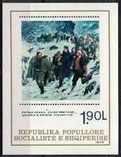 Albania 1979 _ Figurative Arts - National Paintings - Minisheet _Full set-MNH **