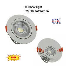 Ceiling Downlights New Spotlights 3W 5W 7W 9W 12W LED Angle Adjustment Recessed