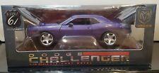 1:18 Scale Dodge Challenger Concept Car #50578 Highway 61 Purple Crazy Plum