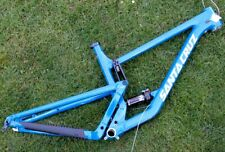 "2020 29"" SANTA CRUZ HIGHTOWER ENDURO RAHMEN FOX DPS DÄMPFER HIGHLAND BLUE GR. L"
