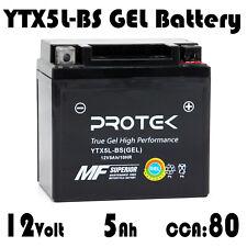 YTX5L-BS YTZ7S Motorcycle 12V 5Ah GEL Battery for 2005-2017 Honda CRF450X CRF230