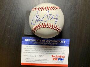 Stephen Strasburg Autographed MLB Baseball Nationals Rookie PSA/DNA