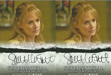 Supernatural 1-3  : Samantha Smith as Mary Winchester auto A03