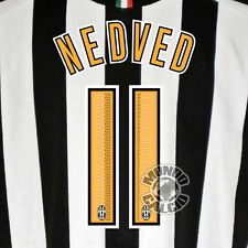 NEDVED CUSTOMIZATION JUVENTUS HOME NOME E SIZE KIT SET NAME 05-06
