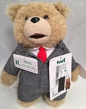 "New ""Ted"" Bear In Suit 8"" Plush R-Rated Plushie Toy Adult Phrases"