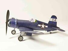 Corsair flying scale model: Balsa Wood Vought F4U Plane Kit by Vintage Model Co
