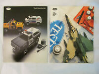 Lot 2 Vintage Toy Catalogs 1981 - 1982 Testors Plastic Model Kits