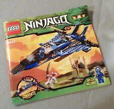Lego NINJAGO Instruction Manual Only #9442 Jay's Storm Fighter