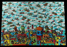 """1991 Children's Jigsaw Puzzle WHERE'S WALDO? """"THE CARPET FLYERS""""   NEW in Box"""