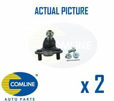 2 x NEW COMLINE FRONT LOWER SUSPENSION BALL JOINT PAIR OE QUALITY CBJ7161