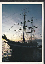 Shipping Postcard - Large Sailboat 1993 Larry Dunmire   LC3615