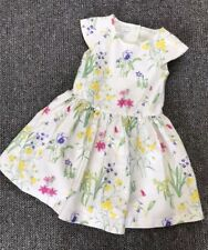 Beautiful Girls Age 2-3 Years John Rocha Floral Pastel Dress #IB7