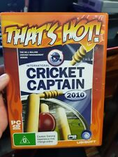 Cricket Captain 2010 - PC GAME - FAST POST