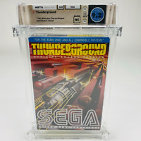 Thunderground - Atari 2600 Sega 1983 Black Box Hangtab RARE! Sealed WATA 9.2 NS