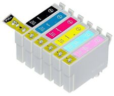 6PK Hi-Yield Ink For Epson 78 77 T0781 - T0786 Stylus Photo R260 R280 R380 RX580