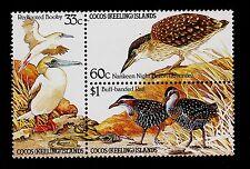 COCOS ISLANDS  SCOTT# 132-134 (SCOTT 134a)   MNH  BIRD TOPICAL