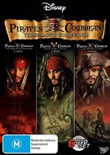 Pirates of the Caribbean 1, 2 and 3 (DVD, 2008, 6-Disc Set)