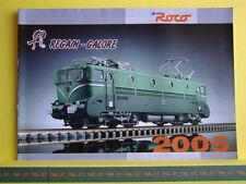 Catalogue ROCO 2005 F Matériel Français Regain Galore + coffrets HO N  Neuf 28 p