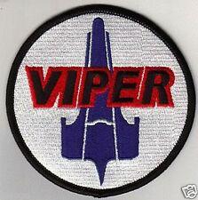 Bsg Viper Pilot Vel-Kro Patch - Bsg03V