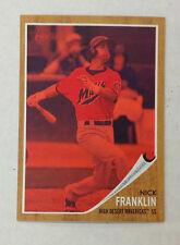 2011 Heritage #/620 Tint RC #115 NICK FRANKLIN Mariners/High Desert Minor League