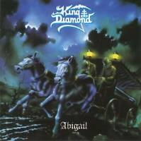 KING DIAMOND - ABIGAIL (1987) Danish Heavy Metal CD Jewel Case+FREE GIFT