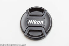 GENUINE ORIGINAL NEAR MINT NIKON 52MM LC-52 FRONT LENS CAP PINCH 35mm 50mm 105mm