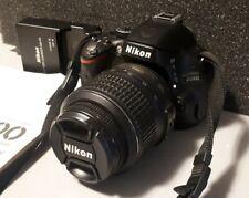 Nikon D5100 16.2MP Digital SLR Camera - Black w/ AF-S Nikkor 18-55mm VR Lense