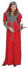Ladies Juliet Maid Maion Fairytale Medieval Fancy Dress Costume Plus Size 16 18