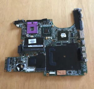 FAULTY HP Compaq Pavilion DV9000  Motherboard 447983-001 FAN SPINS NO DISPLAY