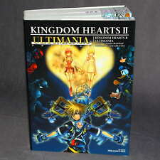 Kingdom Hearts 2 II Ultimania PS2 JAPAN ULTIMANIA GAME GUIDE ART BOOK NEW