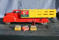 Louis Marx Toys Coca-Cola Delivery Truck - Pressed Steel - Made In USA