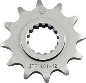 JT Steel Front Sprocket, 12T Front JTF1901 12 24-9015 JTF1901-12 55-190112