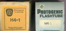 Vintage ~ Photogenic Flashtube ~ H4-1 ~ Photogenic Machine Co ~ Unused In Box
