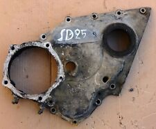 NISSAN DATSUN SD25 DIESEL 2,5cc OHV 8 VALVES 4CYL OUTER TIMING COVER USED