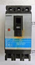 ED43B125 Siemens ITE 3 pole 125 amp 480 volt  ED4  Circuit Breaker
