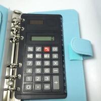 'Portable Solar Power Calculator 8 Digital Ultra-thin Ruler Function Kid·New