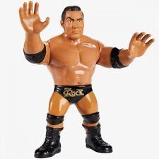 WWE RETRO HASBRO Loose THE ROCK DWAYNE JOHNSON Mattel wwf attitude era not moc