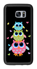 3 Owls For Samsung Galaxy S7 Edge G935 Case Cover by Atomic Market