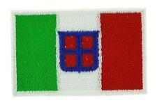 Patch écusson brodé Drapeau ITALIE ROYAUME MARINE ITALIENNE  Backpack sac à dos