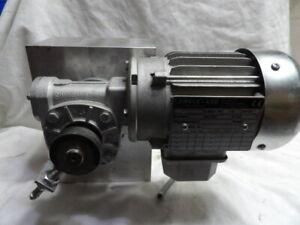 TAKTOMAT STM BO 102801 Speed Reduction Gear Box with Laipple/KEB Motor M50L4