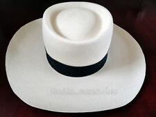Gambler Straw Panama Hat - EXTRA FINO All Sizes - [Montecristi - Ecuador]