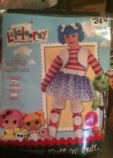 NIP Girls Lalaloopsy Halloween Costume  Small 4-6 3T 4T Mittens Fluff N Stuff