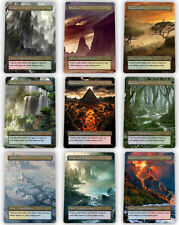=== Set of 10 Dual Lands / DualLands == Full Art Borderless == Magic Lotus Cards
