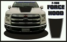 New 2015-16 Ford F150 F-150 Force Hood Solid Color Decals Vinyl Free shipping